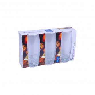 كاسات زجاج عصير 3حبة موديل 42812