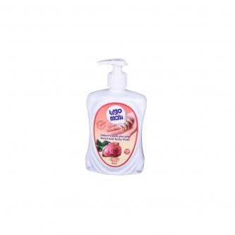 صابون سائل للايدي والاستحمام ،برائحة الورد ،  من موبي ، 450 مل ،