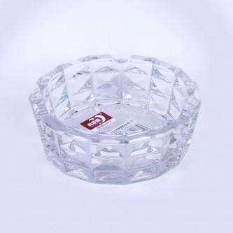 طفاية سجائر زجاج شفاف ,حجم كبير مدور برقم G1092-2