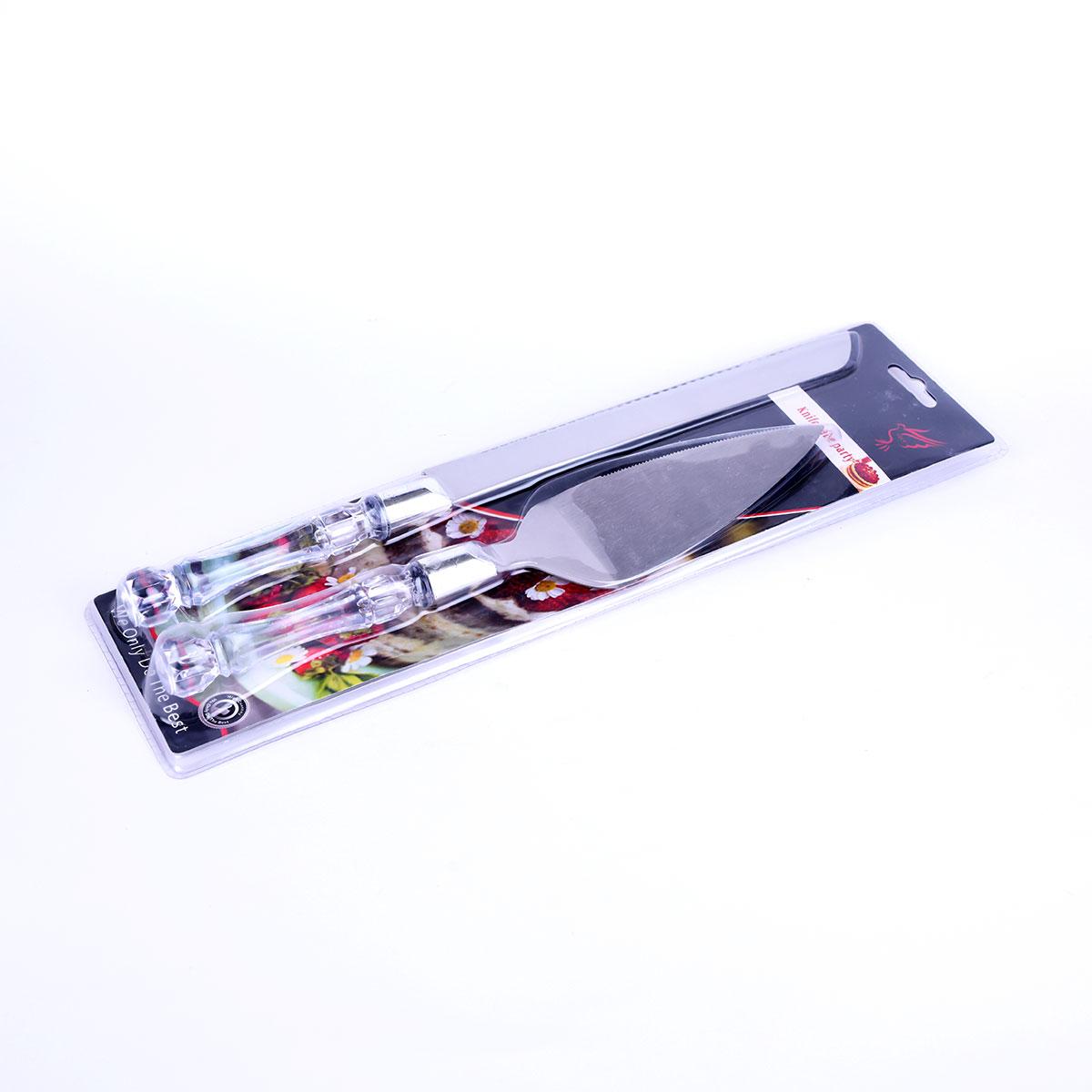 اداة تقطيع الكيك والحلويات سكين + مغرفة تقديم رقم YM-21746