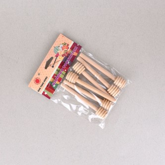 اعواد خشب ,حجم صغير للعسل ,6حبة برقم YM-18928