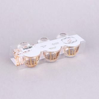 فنجان زجاج ايسا 6قطع WA-P-C-6G