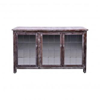 طاوله مدخل خشبي 3 باب موديل  MG2172