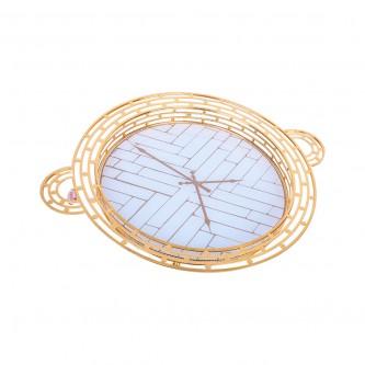 طوفريات استيل دائري .ذهبي مفرد .موديل YFD-1011-34