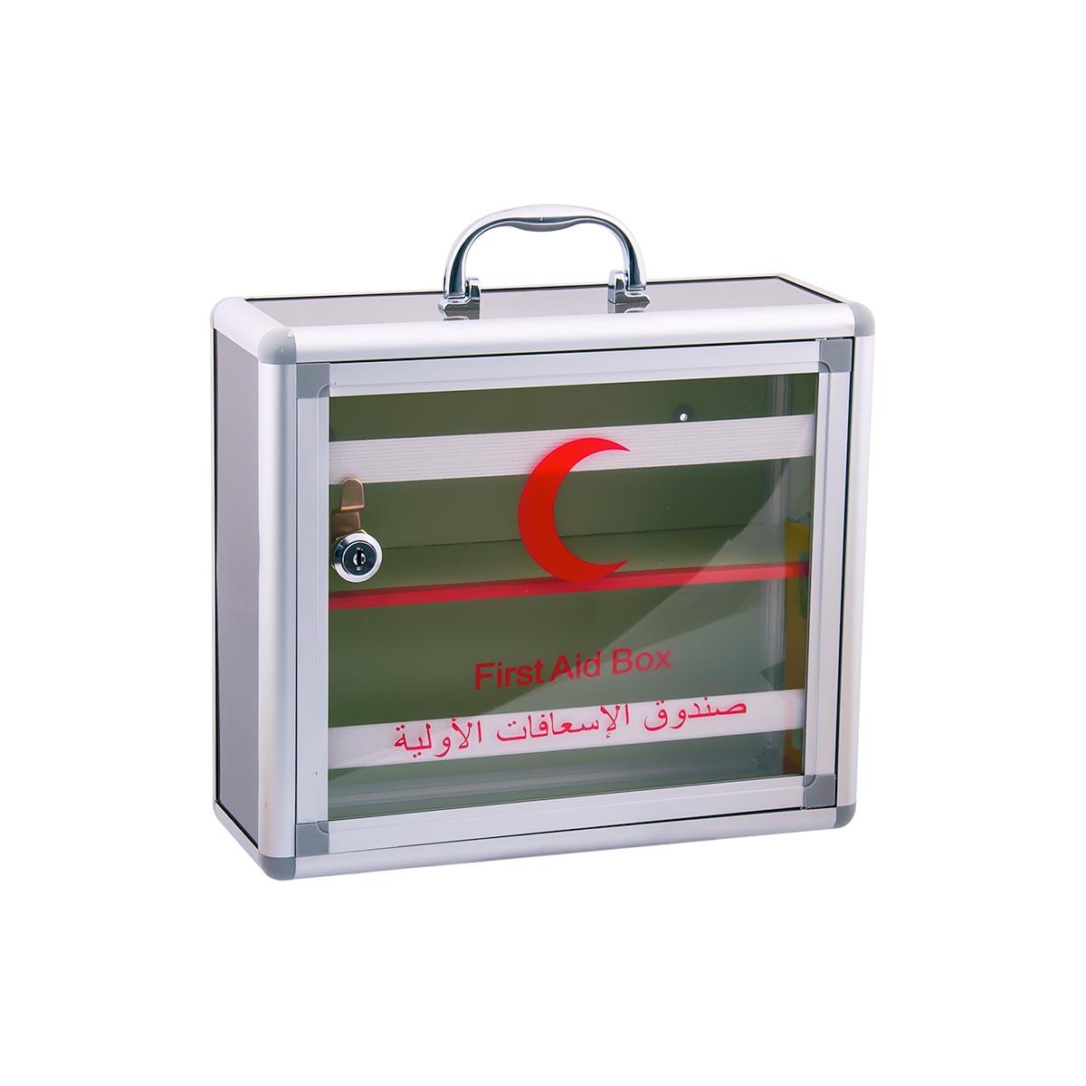 صندوق الاسعافات الأولية . استانلس استيل  موديل 221400