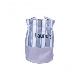 سلة غسيل ملابس وتخزين قماش بيد علاق موديل P22103