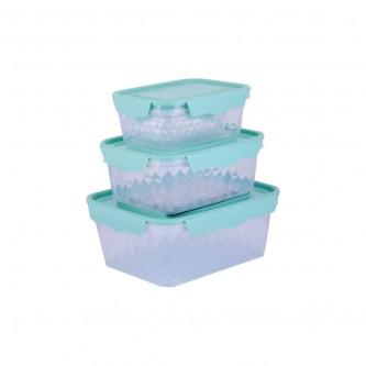 حافظه بلاستيك اخضر طقم 4 حبة موديل 7000051