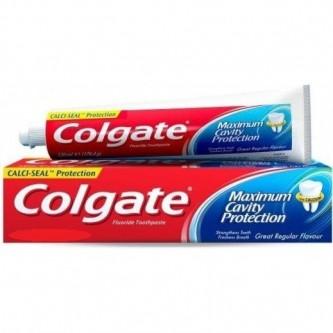 معجون اسنان 120 مل كولجيت ضد التسوس نكهة عادية
