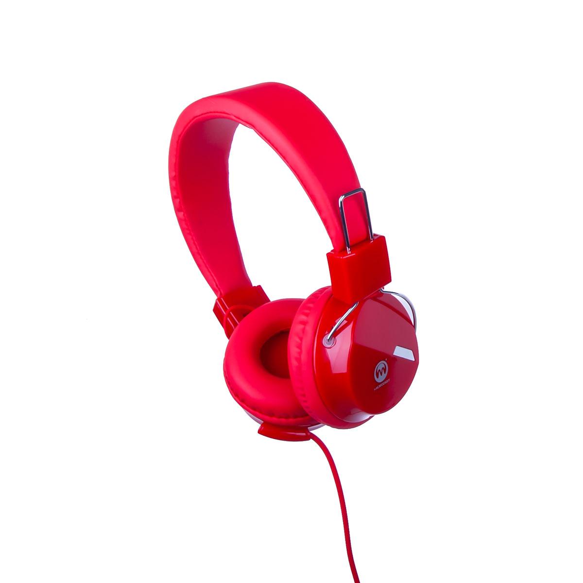 سماعة العاب سلك لون  احمر  MD924