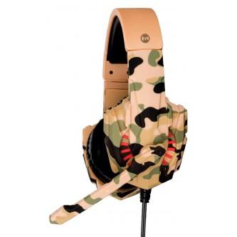 سماعة العاب سلك ميكروديجيت  لون  جيشي   MD6014GH