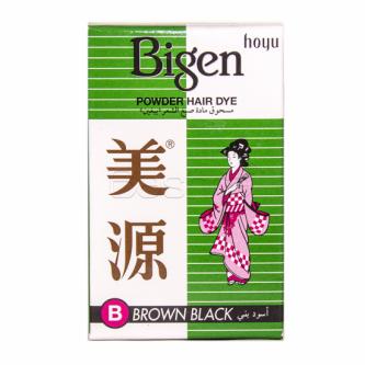 مسحوق صبغة  بيجين  للشعر  اسود  بني 6 جرام