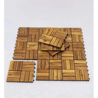 سفره خشب فيتنامي  ربطه 9 حبه 90 * 90 سم  رقم 2500600C