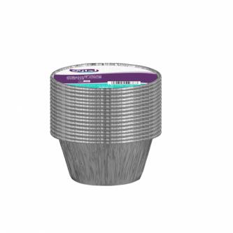 وعاء المنيوم بغطاء لداري 340 ملل 18 حبة موديل  5034