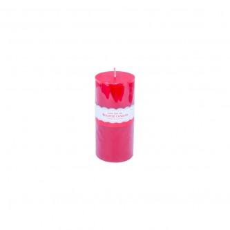 شمع معطر الوان متعدده دائري ارتفاع 15 سم, رقم YM-15044