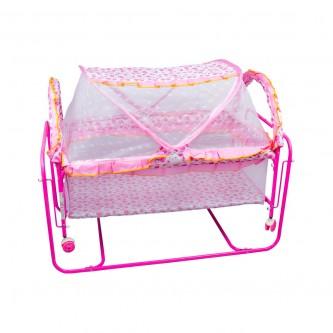 سرير أطفال حديد للرضّع  بأرجوحة الوان رقم 2560