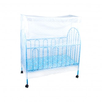 سرير أطفال حديد للرضّع  بأرجوحة الوان رقم A