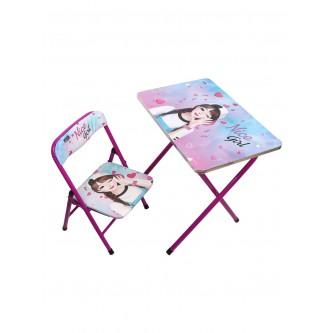 طقم طاولة مع كرسي اطفال رقم 059-4038
