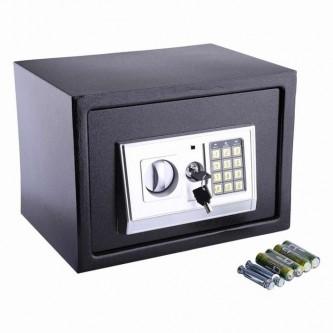 خزانة حديد رقمية لون اسود T-25 رقم 305524