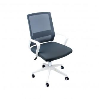 كرسي مكتب متحرك بعجلات - ابيض  موديل  05300391