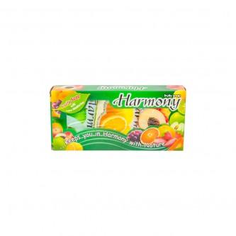 صابون هارموني  ترطيب إضافي بالفواكه  3 قطع متعدد الألوان 3 * 75 جرام