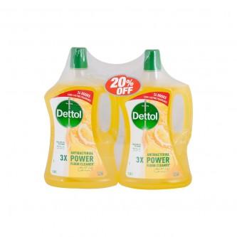منظف متعددالاغراض ديتول 1.8 لتر *2 برائحة  الليمون