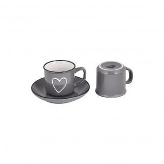طقم  اكواب قهوة عربي  مع الصحون , 12 قطعة رقم 559538
