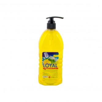 صابون اواني سائل من لويال 1.0 لتر برائحة الليمون والاعشاب البرية