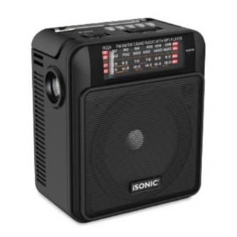 راديو قابل للشحن مع مشغل MP3 , ايسونيك موديل IR 224