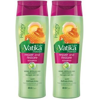 شامبو شعر فاتيكا يصلح ويحافظ  - بالعسل والبيض-  400 + 400 مل