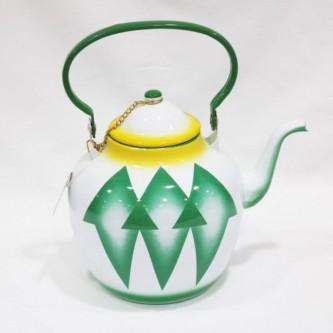 ابريق شاي غضار اندونيسي , مقاس 2.0 لتر  رقم 7602/20RD-7602/20GD