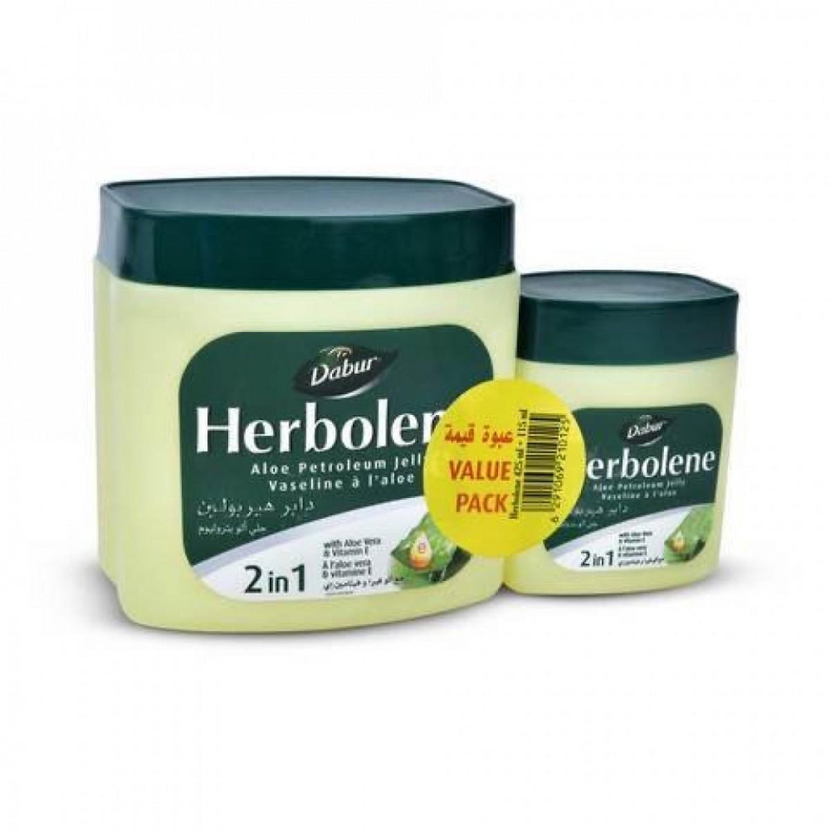 كريم جلي دابر هيربولين  مرطب مع ألو فيرا وفيتامين اي 425 غرام