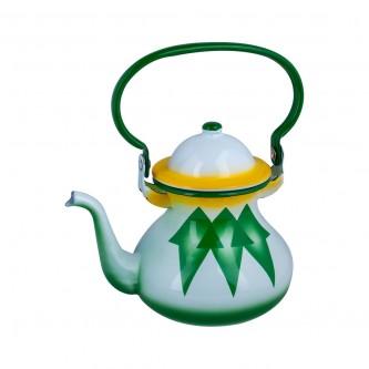 ابريق شاي غضار اندونيسي , مقاس 1.0 لتر  رقم 7607/10GD