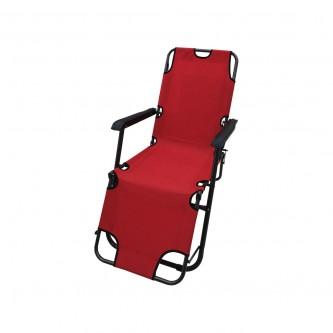 كرسي وسرير 2 في 1 للرحلات والتخييم قابل للطي رقم 14854