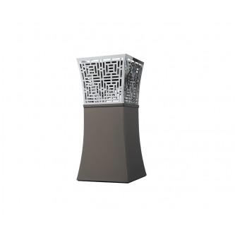 مبخرة الفخامة كروم اسود فاتح رقم K396133/L/MBKC