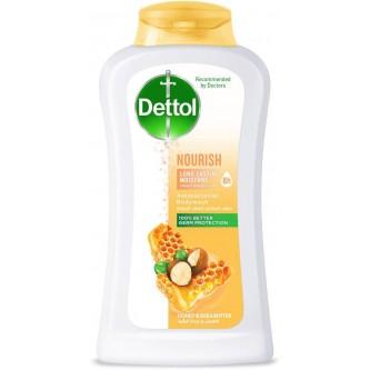 سائل استحمام ديتول المغذي برائحة العسل وزبدة الشيا 250 مل