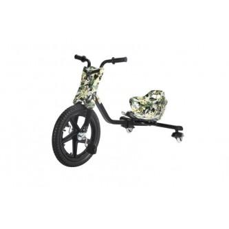 سيكل ثلاث عجلات اطفال لون جيشي  SC006