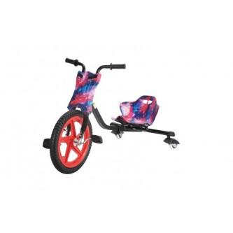 سيكل ثلاث عجلات اطفال لون وردي مع ازرق  SC006
