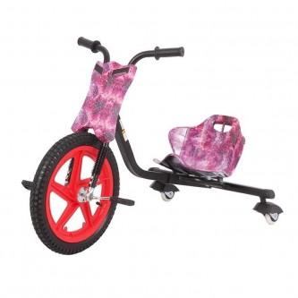 سيكل ثلاث عجلات اطفال لون وردي  SC006