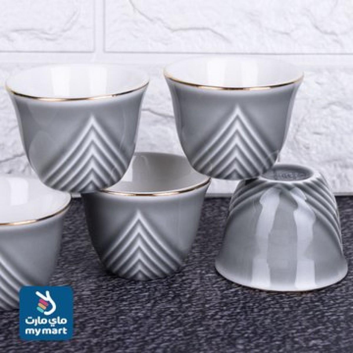 طقم فناجين قهوة  سيراميك 12 فنجان  موديل K692234/3