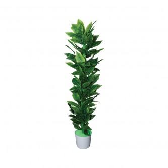 شجر زينة صناعي لون اخضر حجم كبير  (ارتفاع 180 سم )