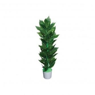 شجر زينة صناعي لون اخضر حجم وسط (ارتفاع 135 سم )