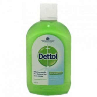 مُطهر و مُعقم ديتول  - سائل - 250 مل اخضر