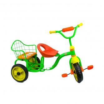 دراجة اطفال ثلاث عجلات - 2 مقعد -لون اخضر موديل TRI295
