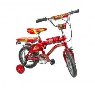 دراجة اطفال رامبو -  مقاس 12 إنش - لون احمر