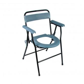 كرسي حمام متنقل وقابل للطي  للرحلات ولكبار السن طبي رقم 1803016