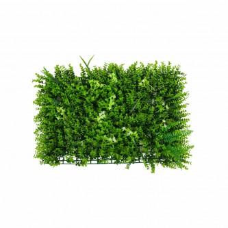 شجر بلاستيك  عشب اخضر مستطيل 60 * 40 سم رقم YM-23048