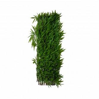 شجر ستارة اخضر بلاستيك على خشب حجم كبير رقم  YM-23043