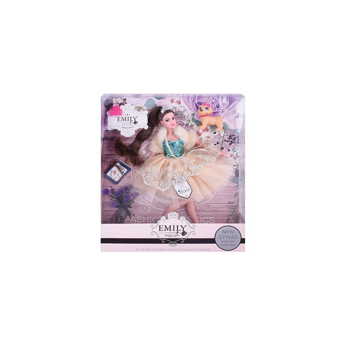 لعبة عروسة دمية للبنات موديل QJ079A / QJ079C
