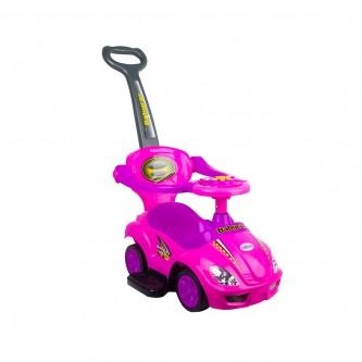 سيارة دفع للاطفال لون وردي رقم C301