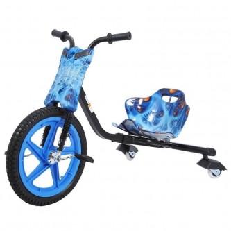 سيكل ثلاث عجلات اطفال لون ازرق مع ابيض   SC006